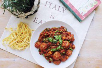 La baguette! – Sicilian meatballs