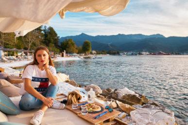 Greek summer at the end of September
