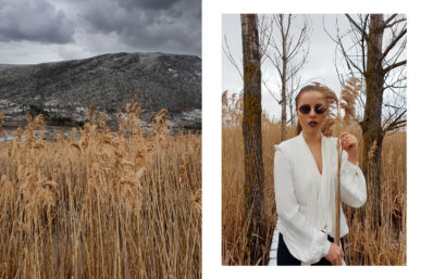 Is it possible to shoot a fashion blog post only with the phone camera?