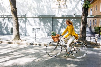 A sunny afternoon on wheels in downtown Sofia