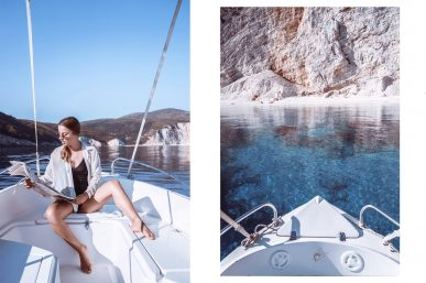 The Blue Lagoon in Kefalonia and a fabulous inspiration from Tom Ford